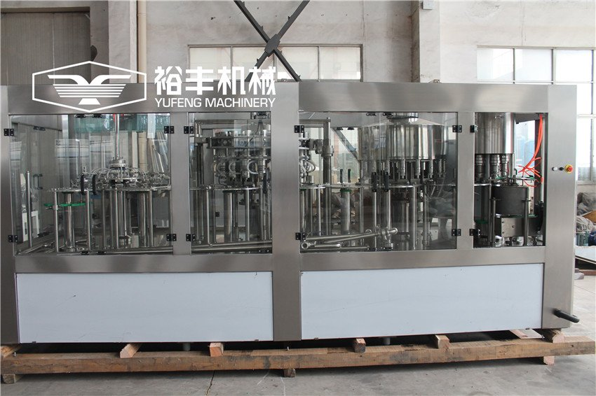 Plastic bottle juice filling machine RCGF18-18-18-6