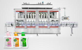 Liquid Detergent Filling Machine