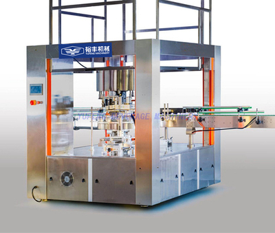 Rotary Adhesive Sticker Bottle Labeling Machine