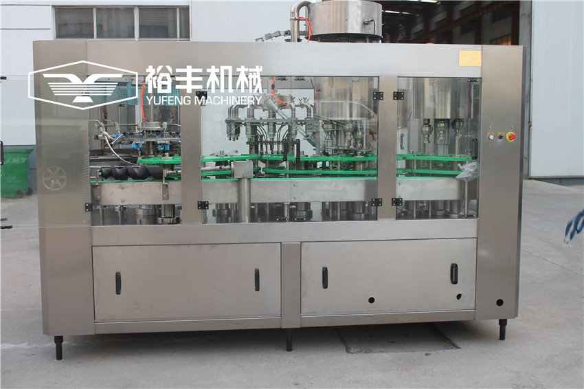 Monoblock 4 In 1 Juice Filling Machine