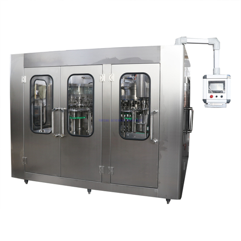 4500BPH Cabornated drink Bottle Filling Machine