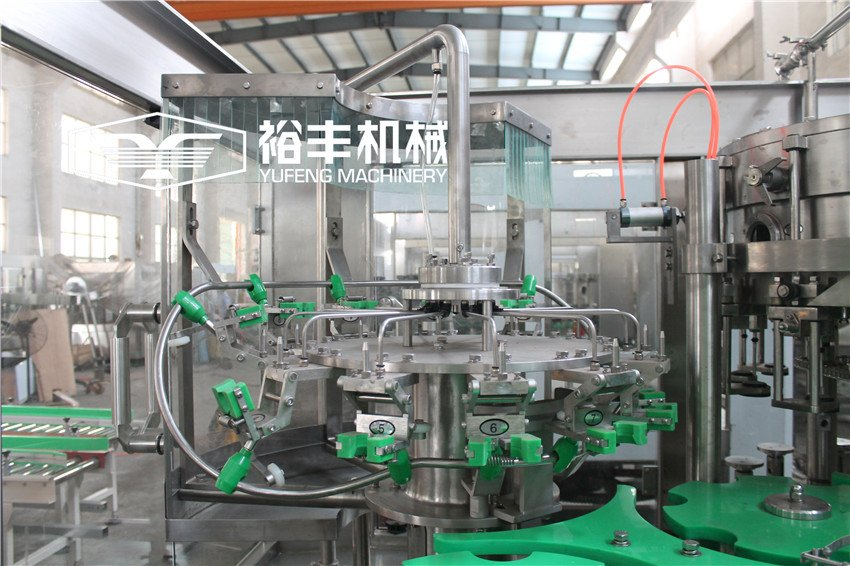 Glass Bottle Carbonated Drink Filling Machine (Aluminum Cap)